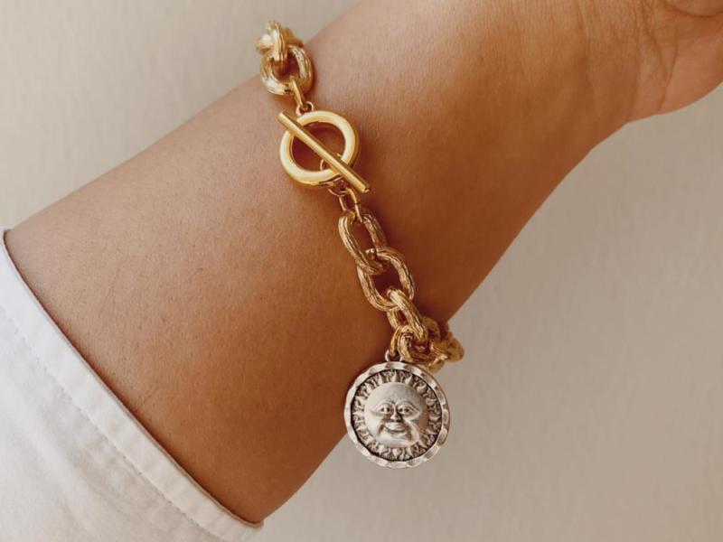silver light bracelet
