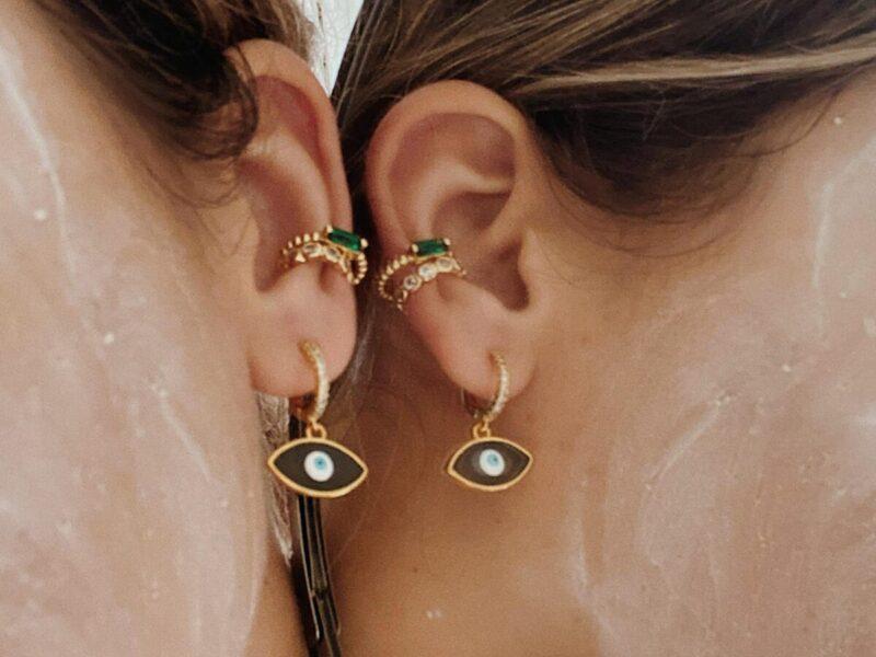 eye earrings combo